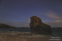Rock on night!! (Noemi Ce Re) Tags: longexposure sea stars mar galicia estrellas nocturna largaexposicin sealovers