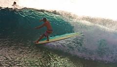 honolua style (bluewavechris) Tags: ocean sea water fun hawaii surf ride action surfer style maui surfboard longboard thebay swell honoluabay honolua hang5 hangfive