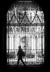 transition (Fabio Tacca) Tags: blackandwhite italy church backlight streetphotography chiesa doorway passing transition biella piedmont controluce divinelight lucedivina nikond3300 fabiotacca acofficinafotografica