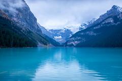 Lake Louise (flippers) Tags: ca mountain lake snow canada snowcapped alberta valley lakelouise snowcap improvementdistrictno9