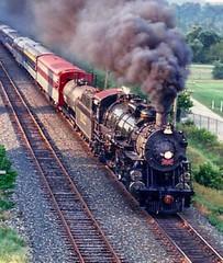 1522 coming on overhead . (Chicago Rail Head) Tags: 482 steamlocomotive oilburner shortlived fantrip mountaintype beautifullocomotive