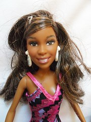 had to show her on her own she is so cute !!! (Belladona Blythe and Friends) Tags: girl store barbie thrift unknown find