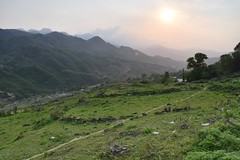 Rice terraces in Sapa (Vietnam) (Linas G) Tags: sunset mountain asia southeastasia vietnam homestay sapa laocai locai riseterraces bchdistrict tvanch