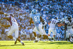 Carolina Football '10 (R24KBerg Photos) Tags: sports canon football nc athletics northcarolina carolina heels ncaa chapelhill unc 2010 tarheels uncch uncchapelhill kenanstadium carolinablue atlanticcoastconference