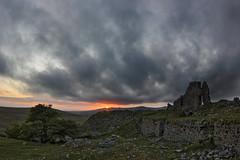 Old House (Richard D Porter) Tags: uk sunset clouds canon landscape devon crop m42 16mm zenitar dartmoor hdr dx merrivale zenitargroup