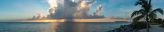 Salt Water Sunset (El Stevo13) Tags: ocean sunset sea storm west tree water rain clouds keys island coast boat key florida shoreline palm shore tropical sail cay marquesas