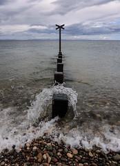 the beach at findhorn (violica) Tags: beach scotland unitedkingdom spiaggia regnounito moray morayfirth findhorn scozia firthofmoray