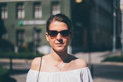 A portrait (Eat.myphoto) Tags: portrait poland girl sunglasses sun summer warm wroclaw