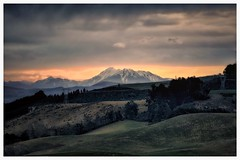 Long shot on a very cold dim night (Kevin_Jeffries) Tags: winter sunset newzealand mountain snow alps cold nature beauty landscape interesting sheep outdoor hill southernalps foothill kevinjeffries