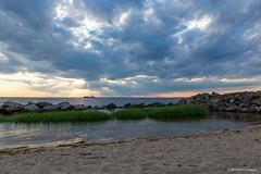 Sandy Hook HDR-1 (Erin Cadigan Photography) Tags: hdr sandy hook nj new jersey forthancock sunset officers row raritan bay atlantic ocean history historic gateway national recreation area