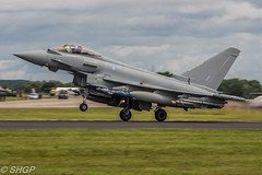 BAe Systems Typhoon FGR4, RIAT 2016 (harrison-green) Tags: raf usaf usafe lakenheath united states royal air force fighter jet stealth suffolk pl outdoor canon 700d sigma 18200mm riat international tattoo 2016 fairford shgp steven harrisongreen f35a lighting ii 2 f35 jsf joint strike f22 f22a raptor vehicle aircraft bae systems eurofighter typhoon fgr4