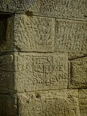 Graffiti on the Pont du Gard near Nimes, France Roman 1st century CE (mharrsch) Tags: graffiti aqueduct architecture engineering roman bridge unesco pontdugard france ancient mharrsch