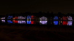 Boathouse Row Philadelphia PA (Brian E Kushner) Tags: boathouse row schuylkill river philadelphia pa pennsylvania houses color lights rowing nikon d810 nikond810 bkushner ©brianekushner nikon2470mmf28 2470