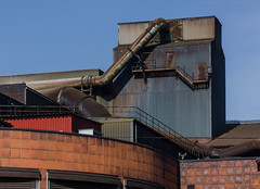 Industrial detail (AstridWestvang) Tags: architecture industry porsgrunn telemark