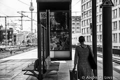 passengers.... (andrealinss) Tags: berlin bw blackandwhite berlinstreet berlinstreets passengers schwarzweiss street streetphotography streetfotografie andrealinss publictransport sbahn