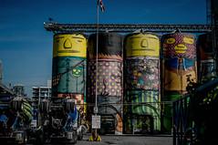 granville island cement factory art (Photo Alan) Tags: granvilleisland vancouver cementfactoryart granvilleislandcementfactoryart leicas leicasummarits70cs canada giant outdoor