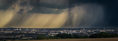 Angoulme in the rain (Jean-Luc Peluchon) Tags: fz1000 panasonic lumix city ville cloud nuage rain pluie panoramic town orage storm tempest thunderstorm mto weather sky ray rayon sunbeam
