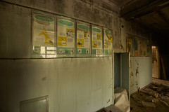 Hospital No. 126, Pripyat (Chernobyl Exclusion Zone)_1 (Landie_Man) Tags: none pripyat chernobyl disused closed abandoned hospital no126 no 126 number 1 2 6 radiation radioactive exclusion zone the ukraine eastern europe soviet union ussr cppp ccpp medic al medical ionising health firemen uniform helmet doctore doctor nurse liquidator liquid liquidate heros