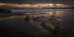 IMG_5788.jpg (Tim_Horsfall) Tags: seaside dusk sunset jersey uk rock beach sky water ocean clouds wet sea weed landscape canon eos 6d ef1635mm f4l is usm tide coast