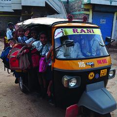 101216 Badami Pupils Transport (BavarIndia) Tags: asia tika