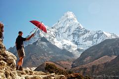 Majestic Ama Dablam, Nepal (Tony Hodson | www.tonyhodson.com) Tags: nepal ama dablam outdoors landscape everest trekking nature wow expedition climb climber climbing