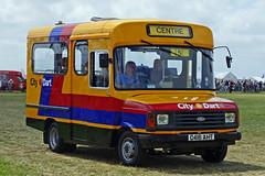 ex Bristol Omnibus - C416 AHT (peco59) Tags: c416aht ford transit carlyle bristolomnibus citydart devongeneral minibus psv pcv preservedbus gloucestershirevintagecountryextravaganza