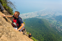 DSC_6021 (sergeysemendyaev) Tags: 2016 rio riodejaneiro brazil pedradagavea    hiking adventure best    travel nature   landscape scenery rock mountain    high ascend  carrasqueira risk  forest green  climbing
