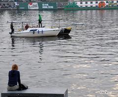 Vltava river (R. Van Wallendael) Tags: praguenovmsto vltava bateauxboats