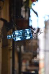 FishBottle (JC Arranz) Tags: españa ciudad tarragona cataluña escultura cristal tienda reclamo decoración botella booken