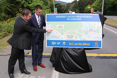 Highway 1 access improvements coming to Langford (BC Gov Photos) Tags: cyclists victoria highway1 transportation pedestrians congestion roadsafety langford motorists stewartyoung toddstone highwayimprovements transportationplan donmcrae bconthemove