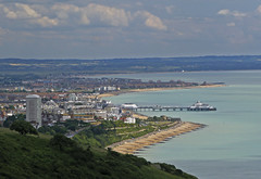 Eastbourne (grahambrown1965) Tags: sea beach water sussex pier powershot eastbourne beaches groyne eastsussex groynes eastbournepier g9 canonpowershotg9