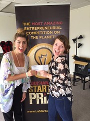 THREE CHEERS for Louisiana StartUp Prize's Q1 keynote Cassidy Phillips! The Trigger Point Performance CEO just sent in a much appreciated donation. Mr. Phillps, you are the Prize!