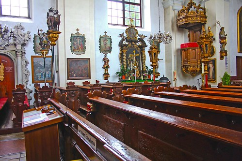 Artstetten. Schlosskirche. Langhaus. Kreuzwegbilder
