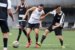 Claudinho e Patrick Florindo (Santos Futebol Clube) Tags: ct santos fc rei sub20 2015 treino pel