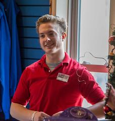 Joe the cashier 02 - 2014-11-28 (Tim Evanson) Tags: cuteguys