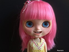 Today a new girl arrived: Kitty Cat Catherina a custom girl by Blanca, Banochita. So cute 🙆.