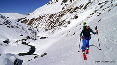 Day 2, afernoon: a neverending ascent under the baking sun. (Erik.G.) Tags: zermatt chamonix skitouring skitour hauteroute valsorey plateauducouloir