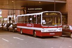 NORTHERN 8029 J629KCU (bobbyblack51) Tags: newcastle all transport wright 1995 dennis northern dart types handybus 8029 of j629kcu