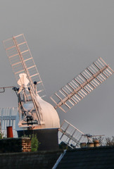 Holgate Windmill from the north, evening - 2