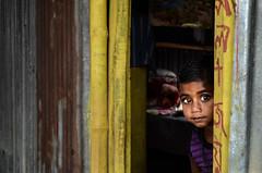 Look at me! (ashik mahmud 1847) Tags: portrait face kids children nikkor bangladesh d5100