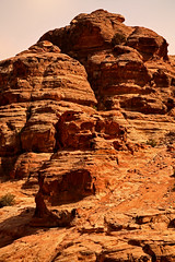 Path to the Monastery 39 (David OMalley) Tags: world city heritage rose rock stone site desert path petra siq carving unesco east jordan monastery arab middle carvings jordanian monumental jebel nabatean nabateans hewn maan almadhbah