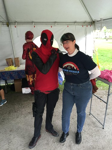 "Tracey and Deadpool • <a style=""font-size:0.8em;"" href=""http://www.flickr.com/photos/28558260@N04/27091179955/"" target=""_blank"">View on Flickr</a>"