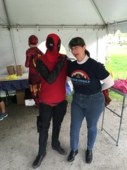 """Tracey and Deadpool • <a style=""""font-size:0.8em;"""" href=""""http://www.flickr.com/photos/28558260@N04/27091179955/"""" target=""""_blank"""">View on Flickr</a>"""