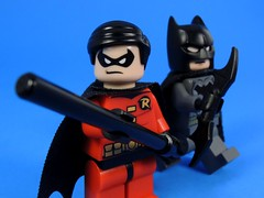 Batman and Robin (MrKjito) Tags: robin comics tim justice dc lego bruce wayne batman minifig drake gotham 3rd