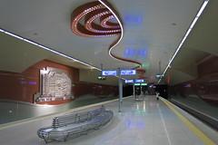 Sofia - Metro Station NDK (National Palace of Culture) (lyura183) Tags: station underground metro sofia bulgaria ubahn  ndk