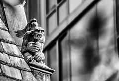 Bad Attitude (mysunsin) Tags: nikonflickraward gargoyle grotesque