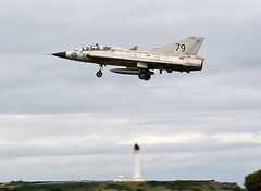 Lighthouse Draken (np1991) Tags: royal air force raf lossiemouth lossie moray scotland united kingdom uk nikon digital slr dslr d7100 camera sigma 50500mm 50 500 50500 bigma lens aviation planes aircraft saab jas35 jas 35 draken swedish historic flight swafhc sweden lighthouse