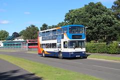 16468 (matty10120) Tags: old bus london volvo yay airshow international shuttle service non withdrawal olympian 2016 farnborugh sirport s168ret