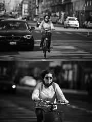 [La Mia Citt][Pedala] (Urca) Tags: milano italia 2016 bicicletta pedalare ciclista ritrattostradale portrait dittico bike bicycle nikondigitale mir biancoenero blackandwhite bn bw 872170