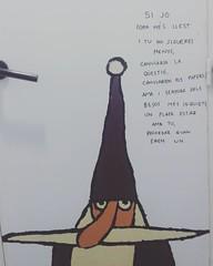 L'ltima volta (Anna Baqus Sbat) Tags: squareformat draw dibujo volta lultima escrito bruixot instagramapp uploaded:by=instagram